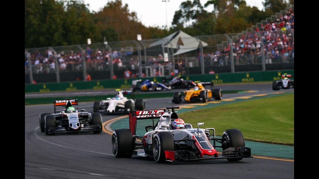 Romain Grosjean - GP Australien 2016