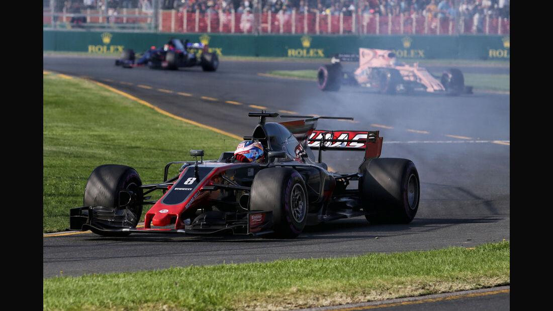 Romain Grosjean - GP Australien 2017