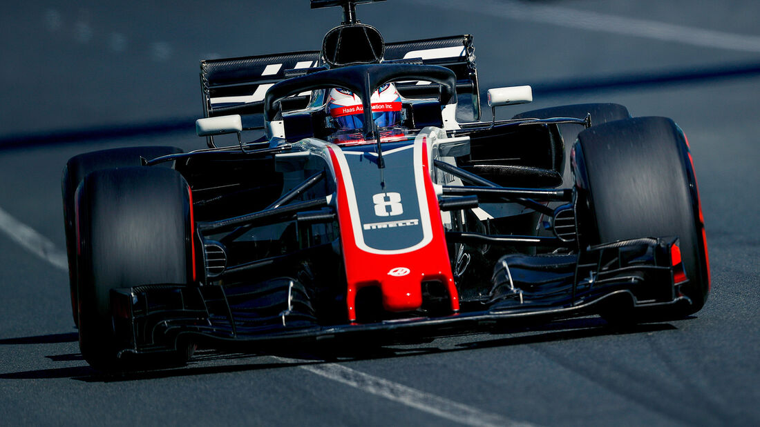 Romain Grosjean - GP Australien 2018