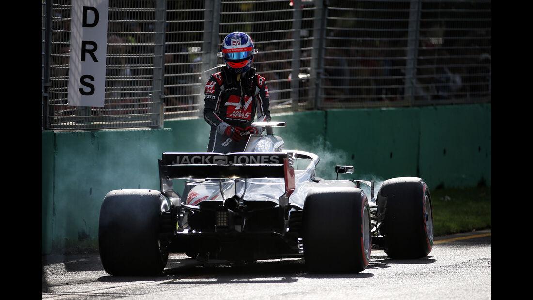Romain Grosjean - GP Australien 2018