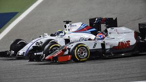 Romain Grosjean - GP Bahrain 2016