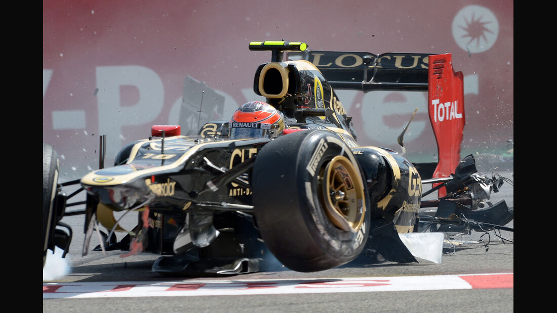 Romain Grosjean - GP Belgien 2012