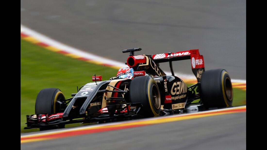 Romain Grosjean - GP Belgien 2014