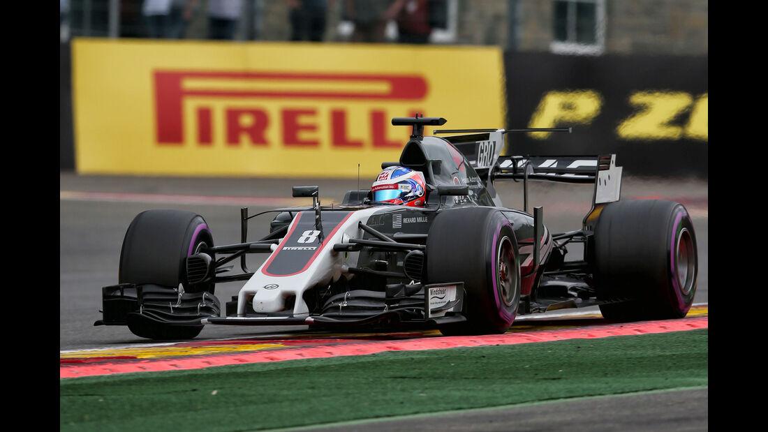 Romain Grosjean - GP Belgien 2017