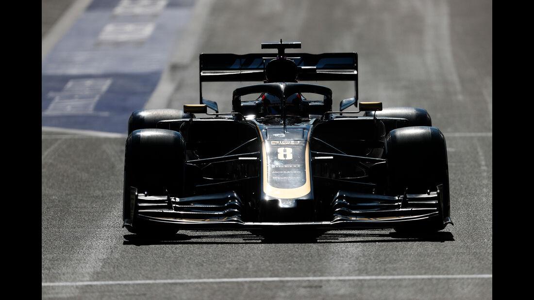Romain Grosjean - GP Belgien 2019