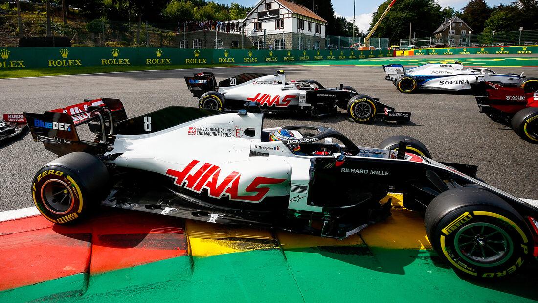 Romain Grosjean - GP Belgien 2020