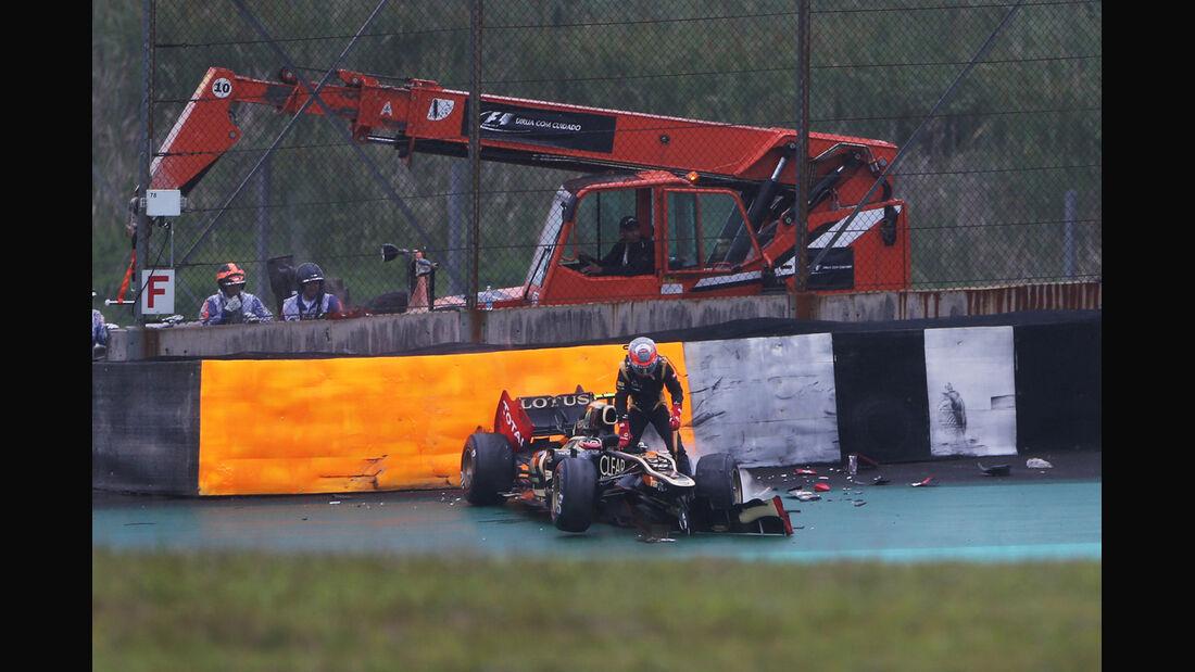 Romain Grosjean GP Brasilien 2012