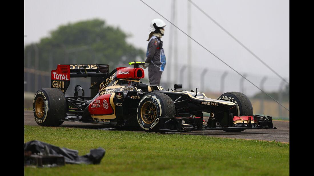 Romain Grosjean - GP Brasilien 2013