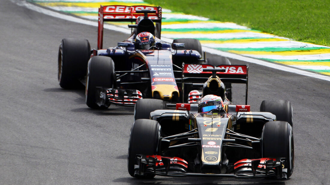 Romain Grosjean - GP Brasilien 2015