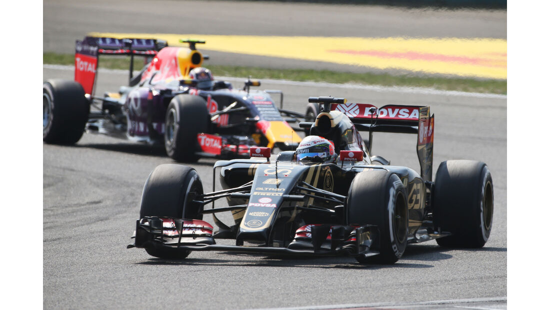 Romain Grosjean - GP China 2015