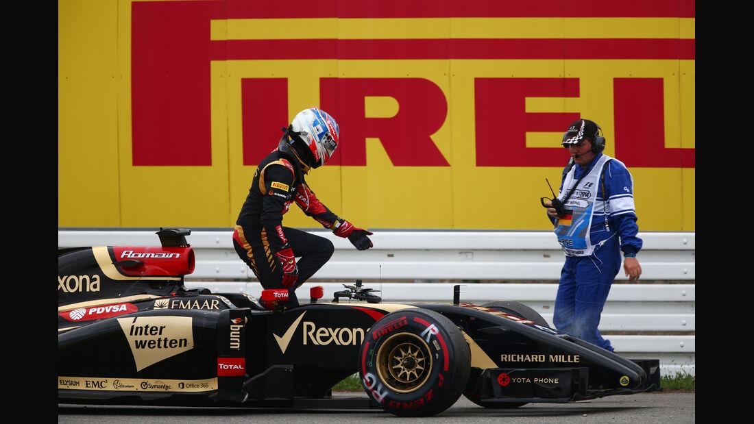 Romain Grosjean - GP Deutschland 2014