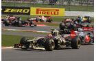 Romain Grosjean GP England 2012