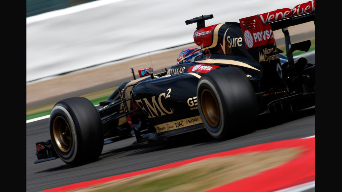 Romain Grosjean - GP England 2014