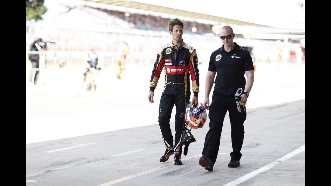 Romain Grosjean - GP England 2015