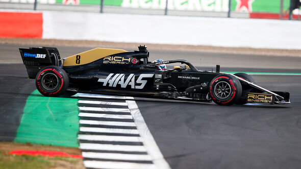 Romain Grosjean - GP England 2019
