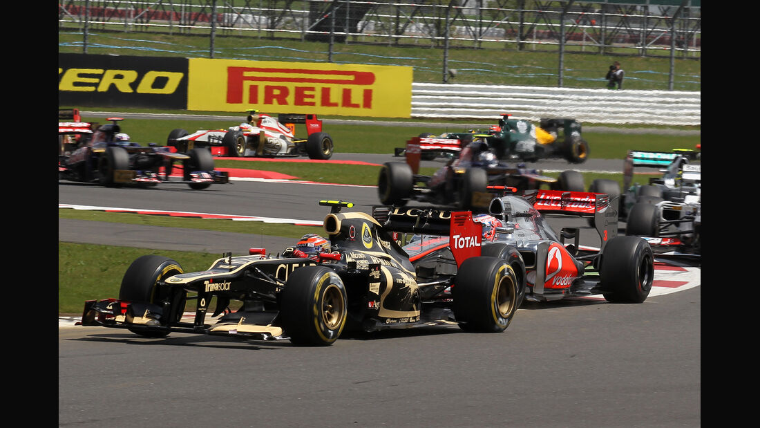 Romain Grosjean GP England Silverstone 2012