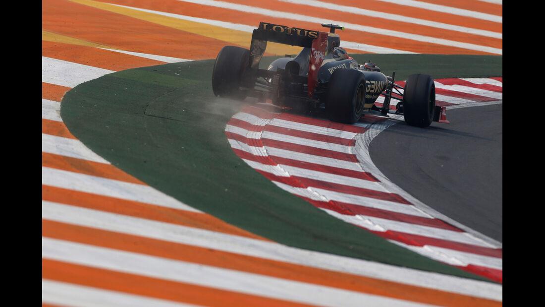 Romain Grosjean GP Indien 2012