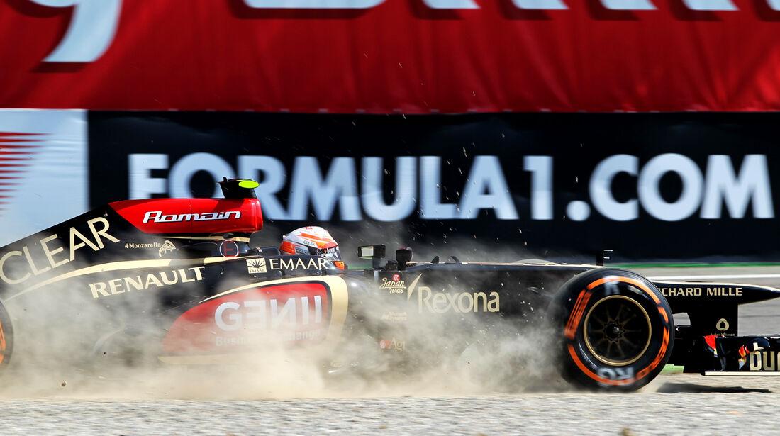 Romain Grosjean - GP Italien 2013