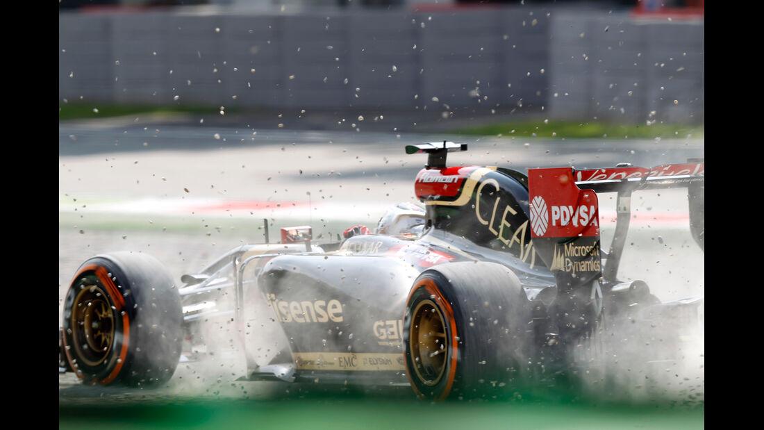 Romain Grosjean - GP Italien 2014