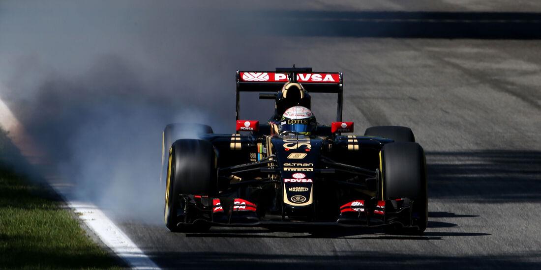 Romain Grosjean - GP Italien 2015