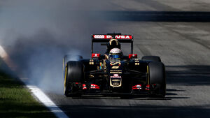 Romain Grosjean - GP Italien 2015