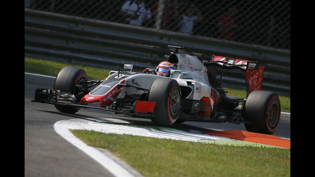 Romain Grosjean - GP Italien 2016