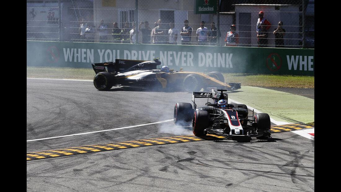 Romain Grosjean - GP Italien 2017