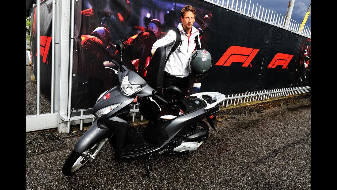 Romain Grosjean - GP Italien 2018