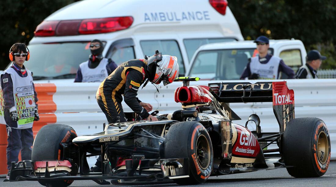 Romain Grosjean  - GP Japan 2013