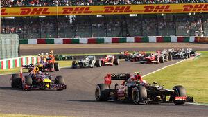 Romain Grosjean GP Japan 2013