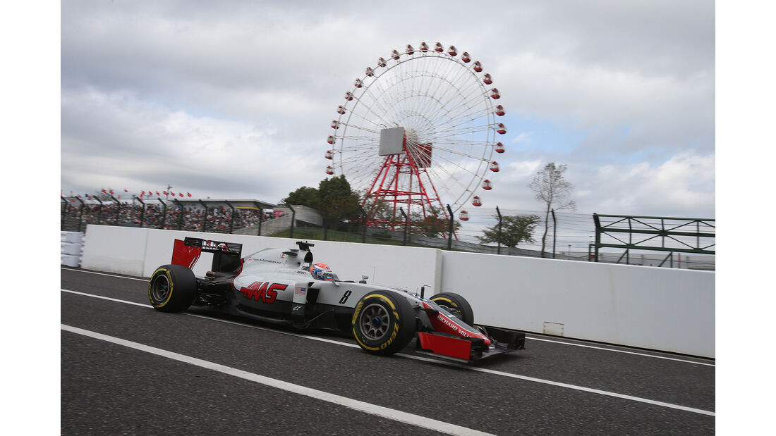 Romain Grosjean - GP Japan 2016
