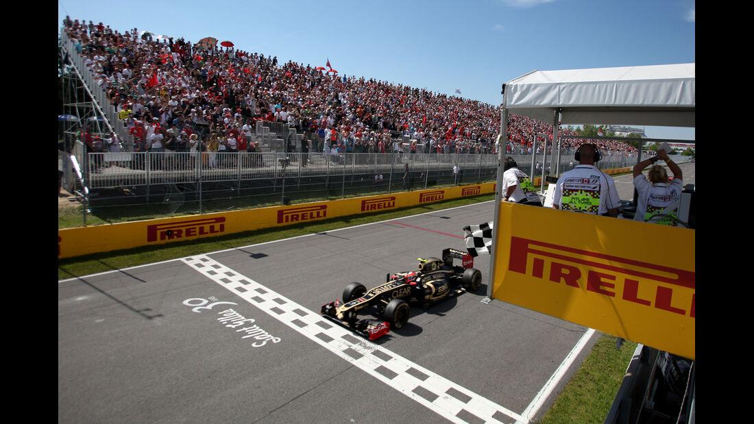 Romain Grosjean GP Kanada 2012