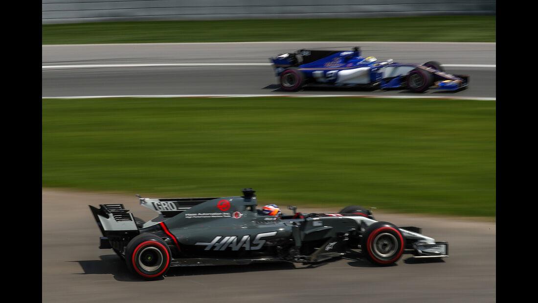 Romain Grosjean - GP Kanada 2017