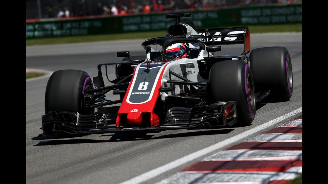 Romain Grosjean - GP Kanada 2018