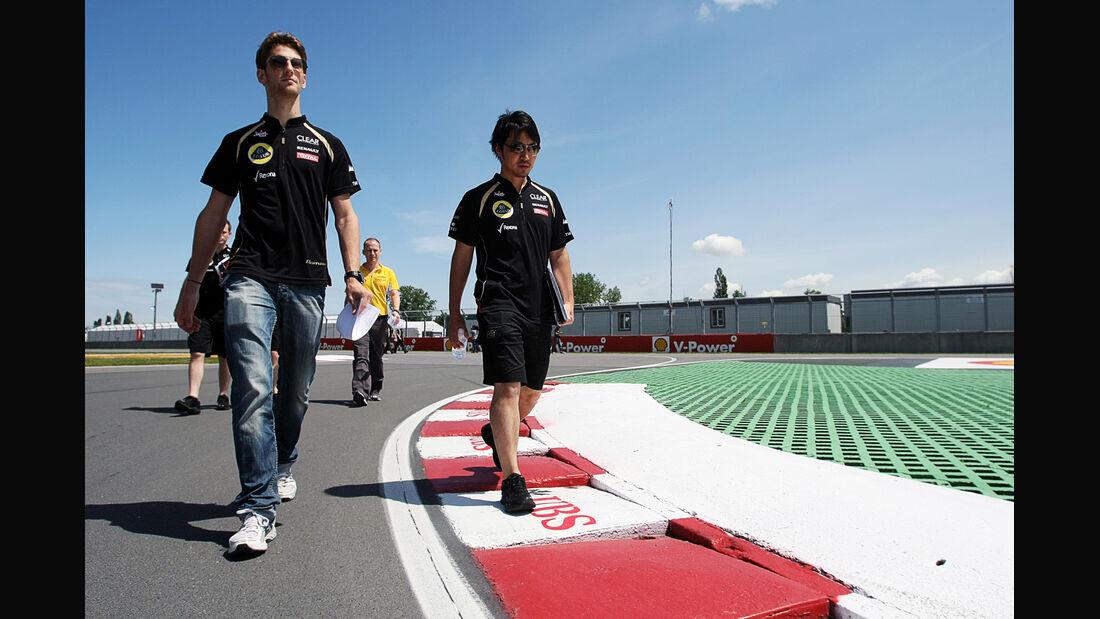 Romain Grosjean - GP Kanada - Formel 1 - 7. Juni 2012
