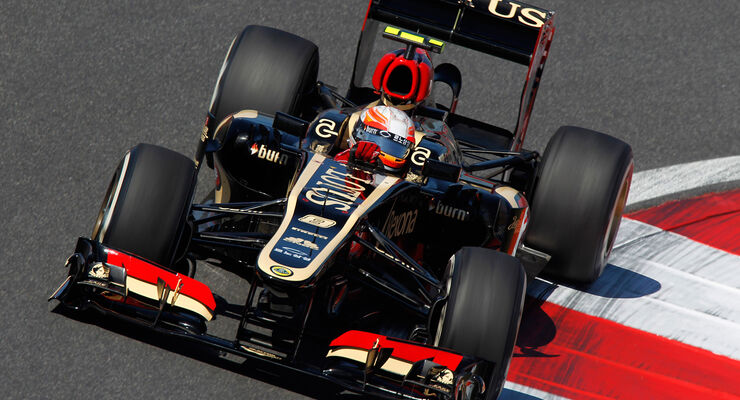Romain Grosjean - GP Korea 2013