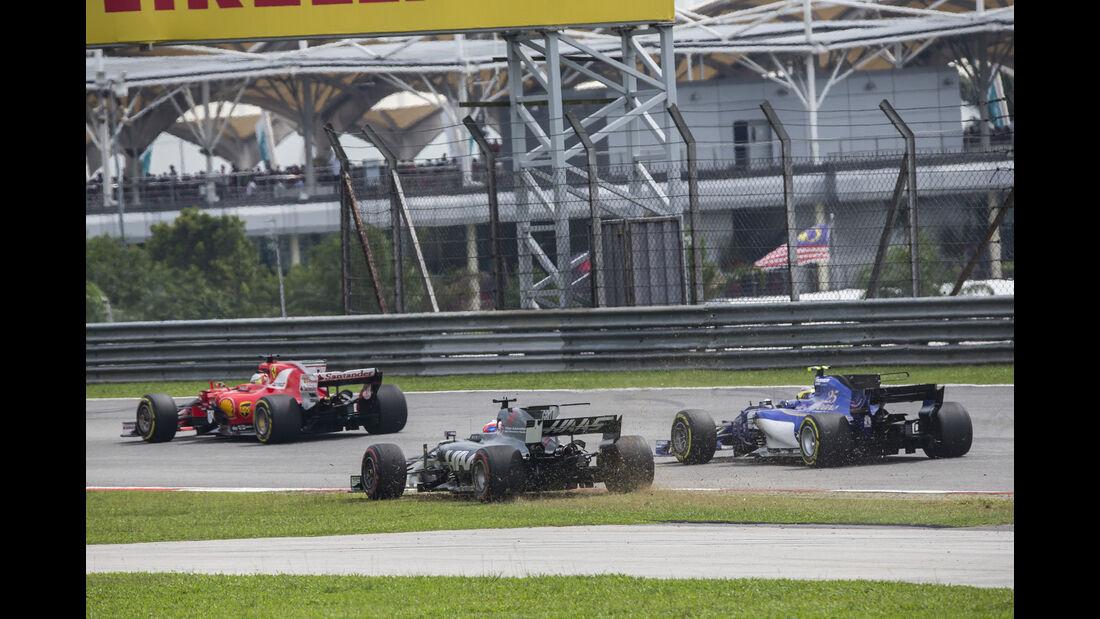 Romain Grosjean - GP Malaysia 2017