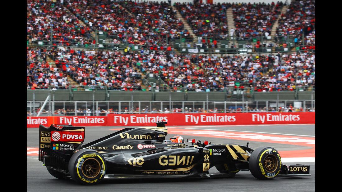 Romain Grosjean - GP Mexiko 2015