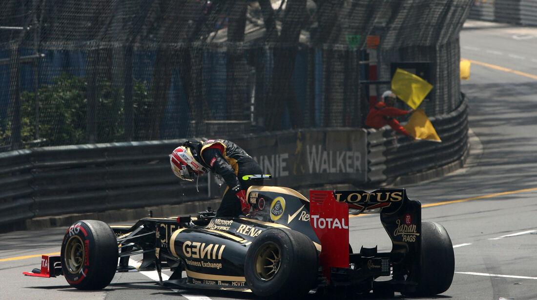 Romain Grosjean - GP Monaco 2012