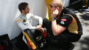 Romain Grosjean GP Monaco 2013