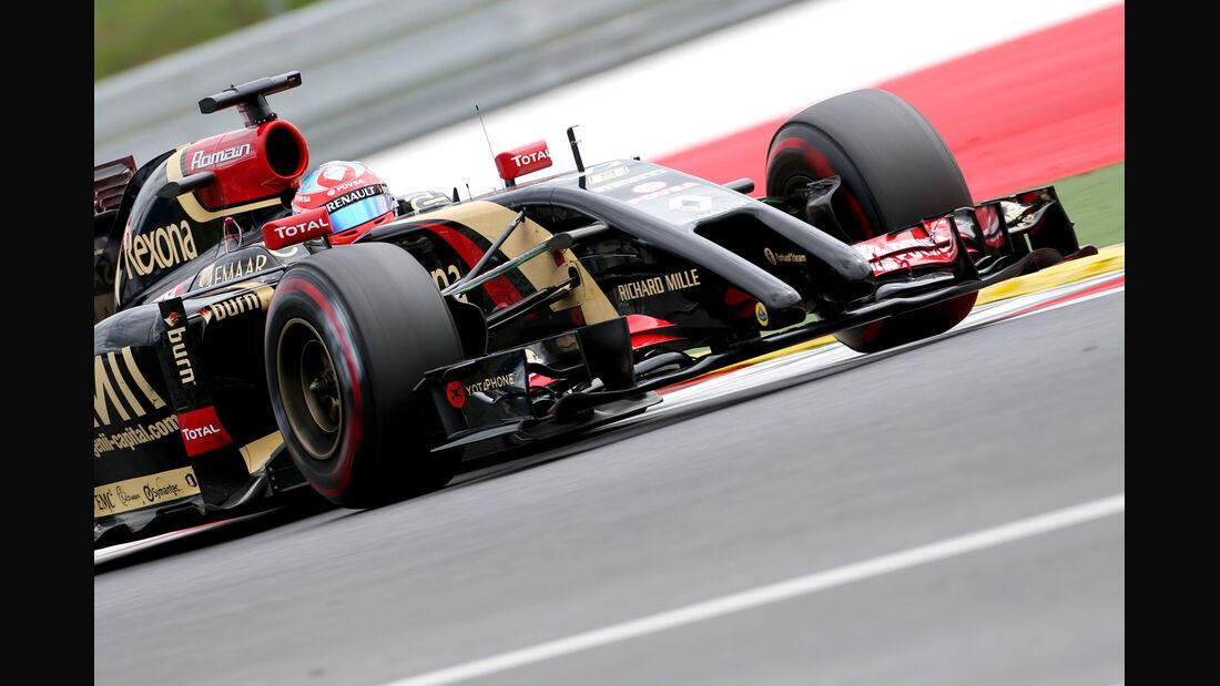Romain Grosjean - GP Österreich 2014