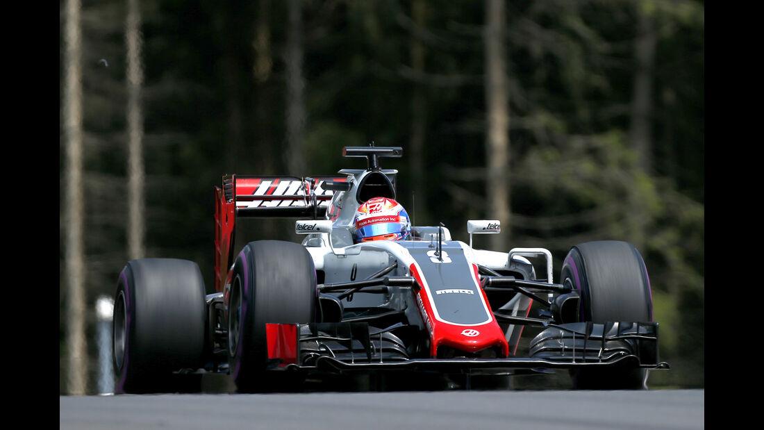 Romain Grosjean - GP Österreich 2016