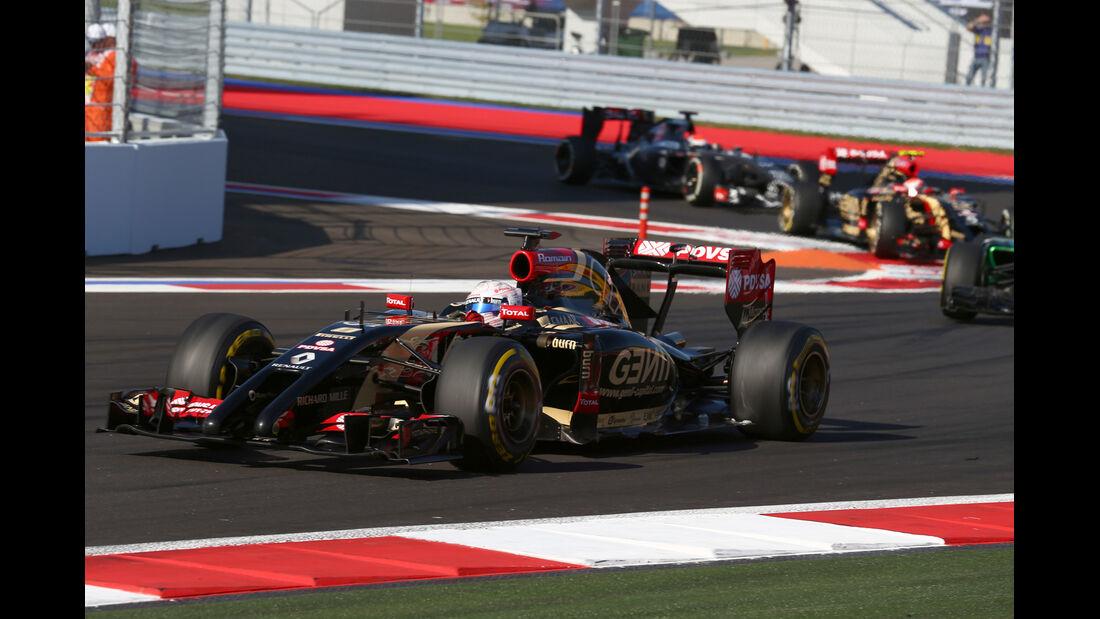 Romain Grosjean - GP Russland 2014