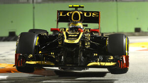 Romain Grosjean GP Singapur 2012