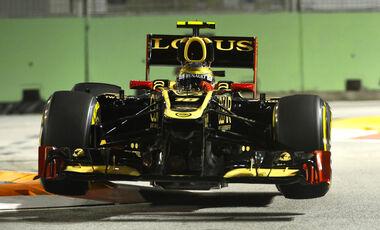 Romain Grosjean GP Singapur 2012