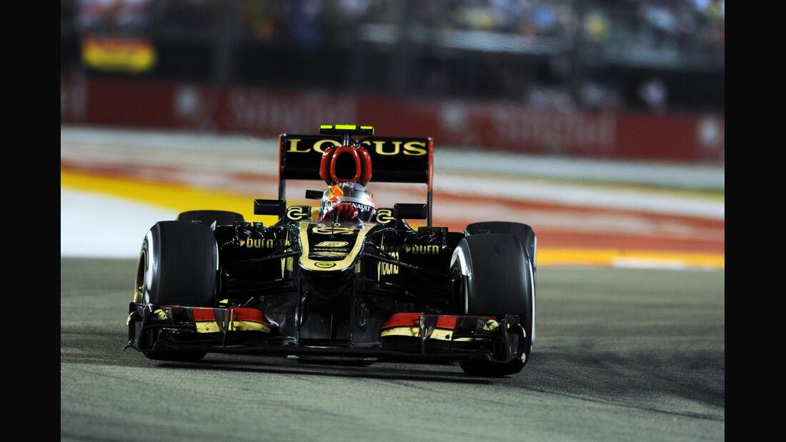 Romain Grosjean GP Singapur 2013