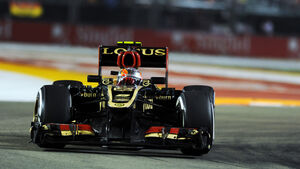 Romain Grosjean GP Singapur 2013