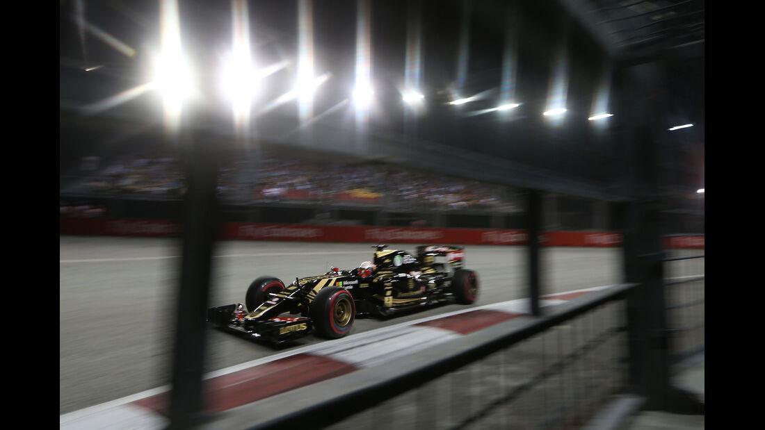 Romain Grosjean - GP Singapur 2015