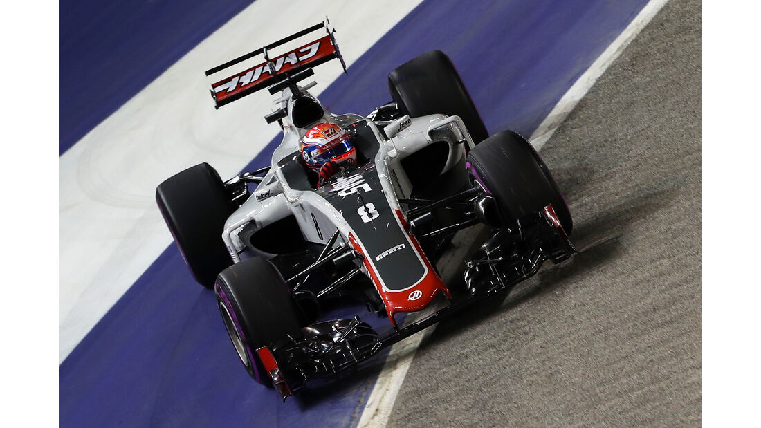 Romain Grosjean - GP Singapur 2016