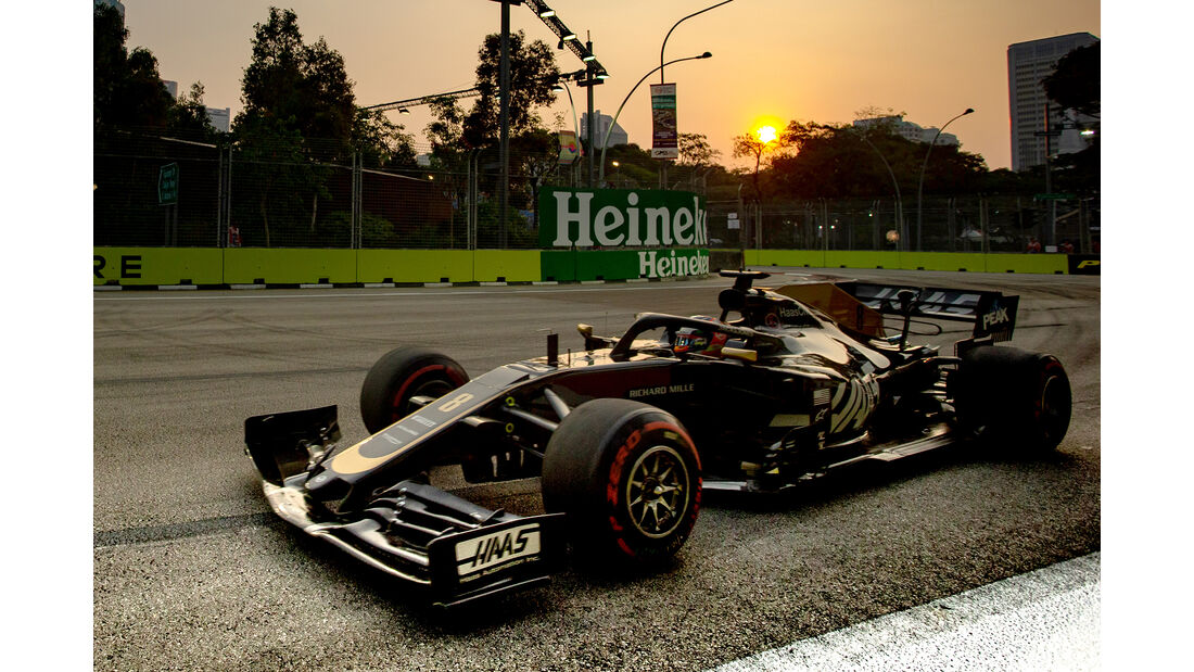 Romain Grosjean - GP Singapur 2019